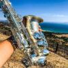 Saxofón Alto Oleg Maestro Baño en Plata
