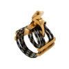 Abrazadera Silverstein CRYO4 Gold para Saxofón y Clarinete