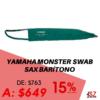 Yamaha Saxofón Barítono Monster Swab